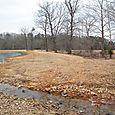 Pond II entering spillway